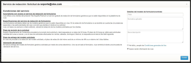 Servicio de redacción de modelos de formulario tipo - Centro de ...