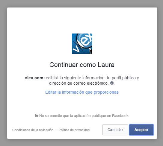 facebook acceso a vlex